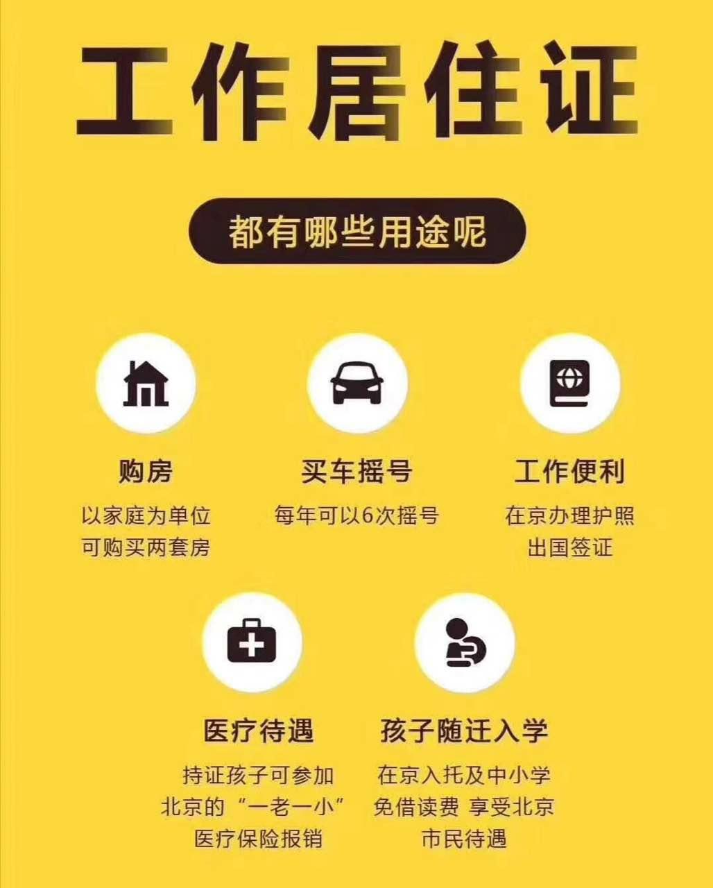 6月份北京市工作居住证如何办理